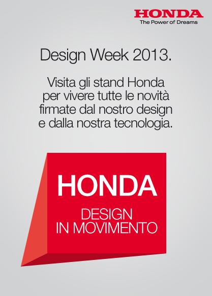 HONDA - design in movimento